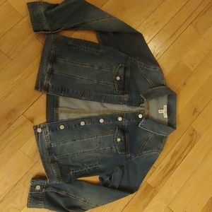 Jessica Simpson XL Maternity Jean Jacket